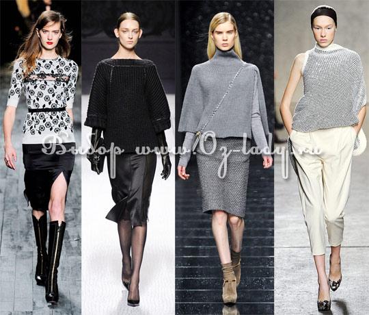 e1827f8cb24 Модные женские свитера осень зима 2012 2013