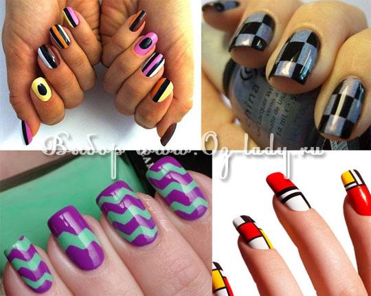 дизайн ногтей весна лето 2013