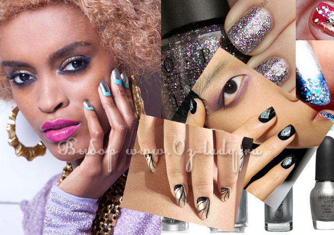 модный дизайн ногтей весна лето 2013