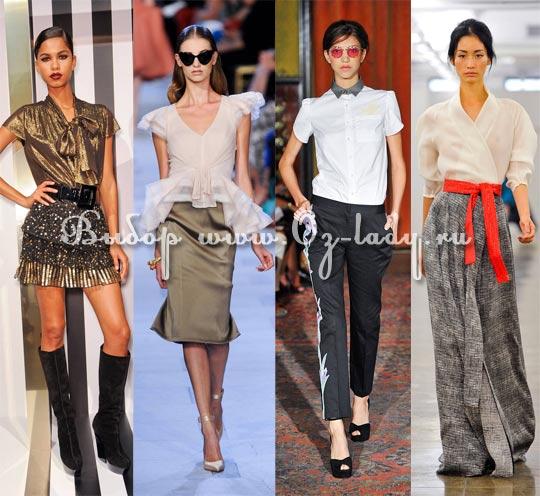 787b96789cd Модные блузки весна лето 2013 женские