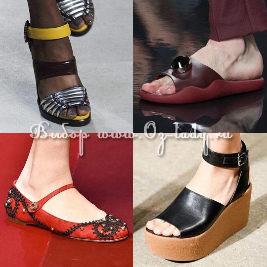 fcd6fbaef Женская обувь весна лето 2015: модные тенденции