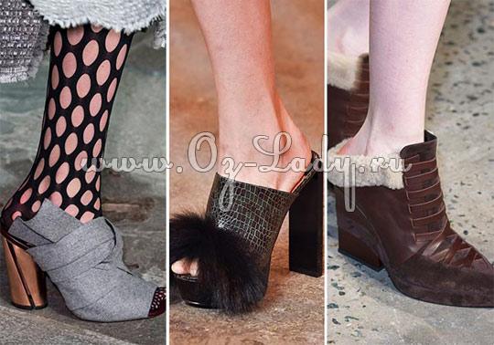 2d9cd41c0 Женская обувь: модные тренды осень зима 2015 2016
