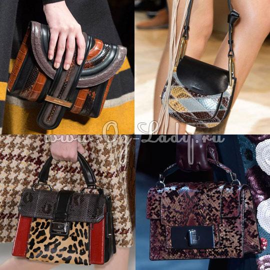 d4745c04a3c7 Модные сумки осень зима 2015 2016: новые тенденции
